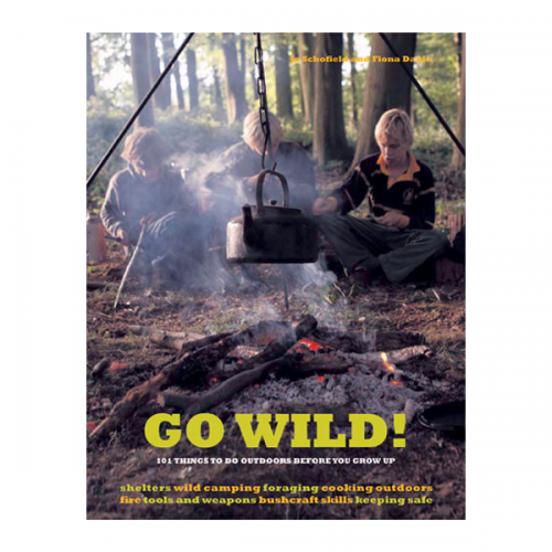 Go Wild Outdoor Activities Book