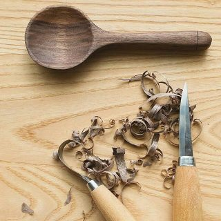 Spoon Carving Forest Schools