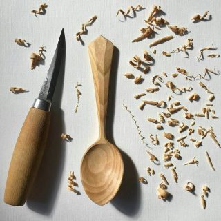Mora Wood Carving Knife